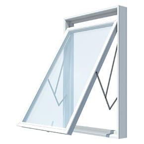 smartline 82 Swing fönster, glidfönster eller vridfönster
